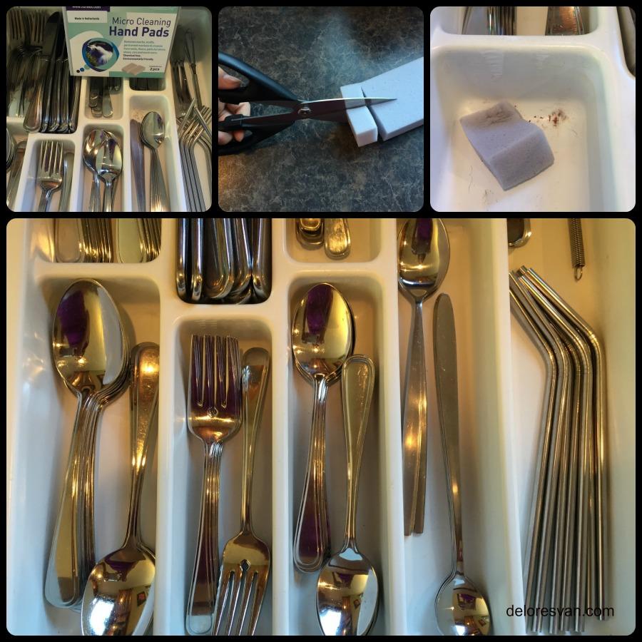 utensil drawer collage