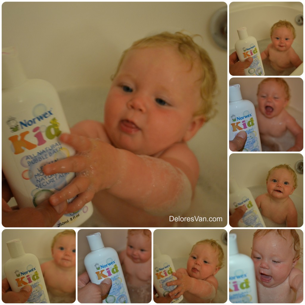 Bubble Bath Collage