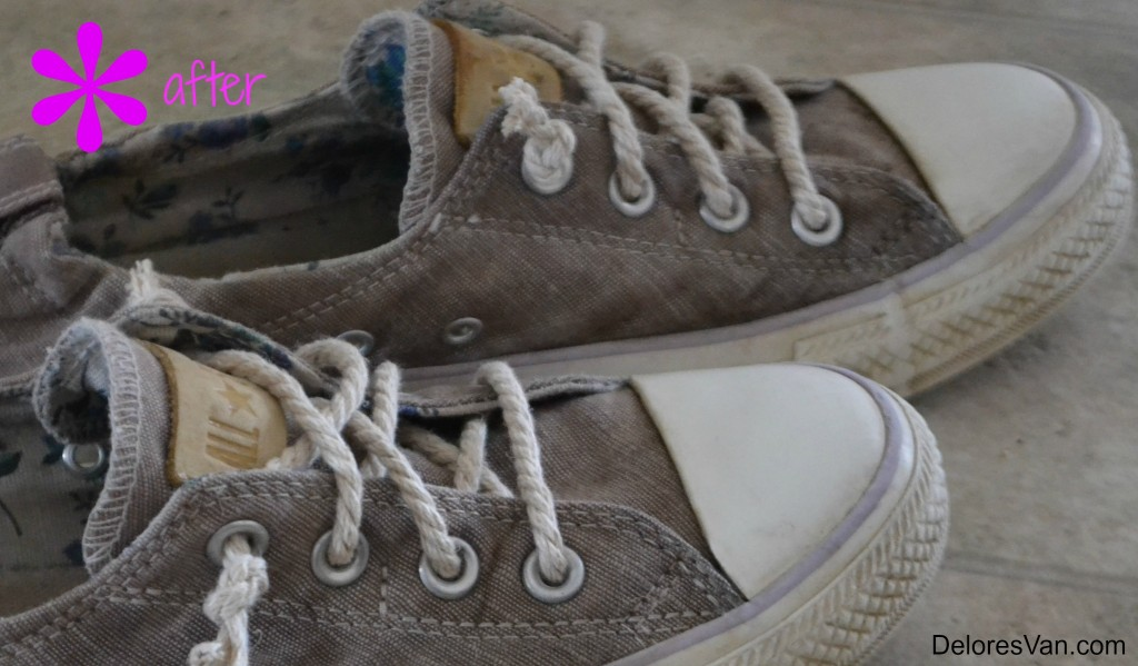 after shoes