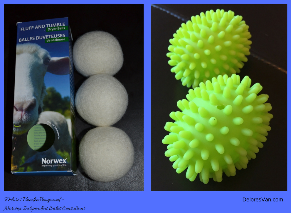 Chemicals in your Dryer?  Try Norwex Dryer Balls…