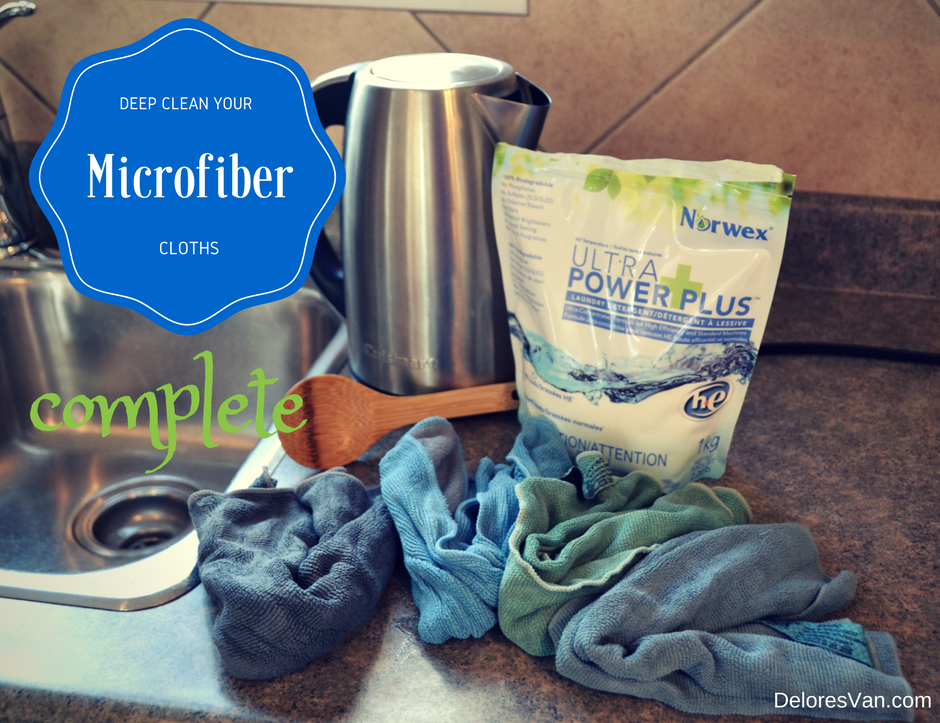 How To Deep Clean Your Norwex Microfiber Cloths Clean