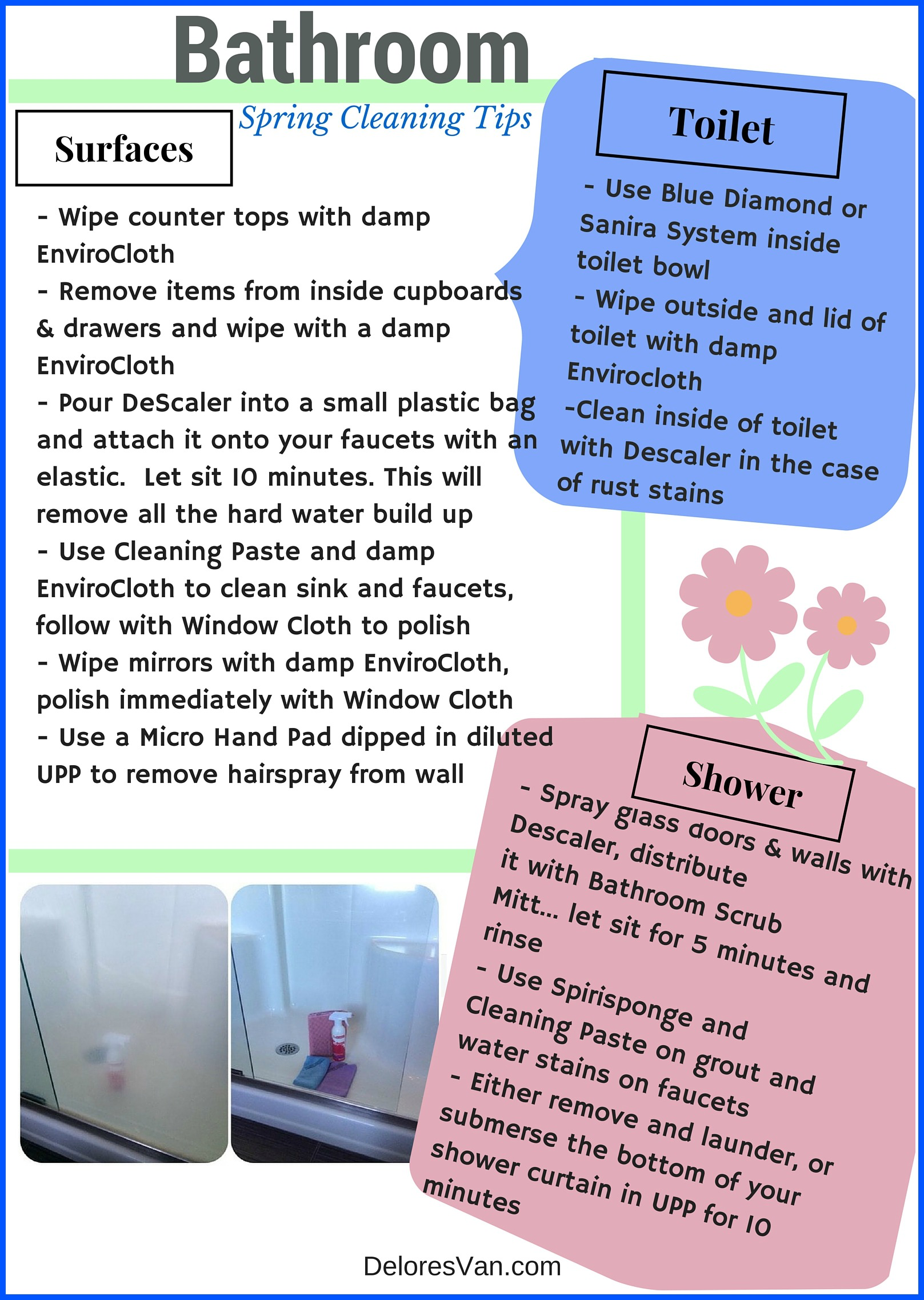 Norwex spring cleaning tips bathrooms rooms natural for How to use norwex bathroom scrub mitt