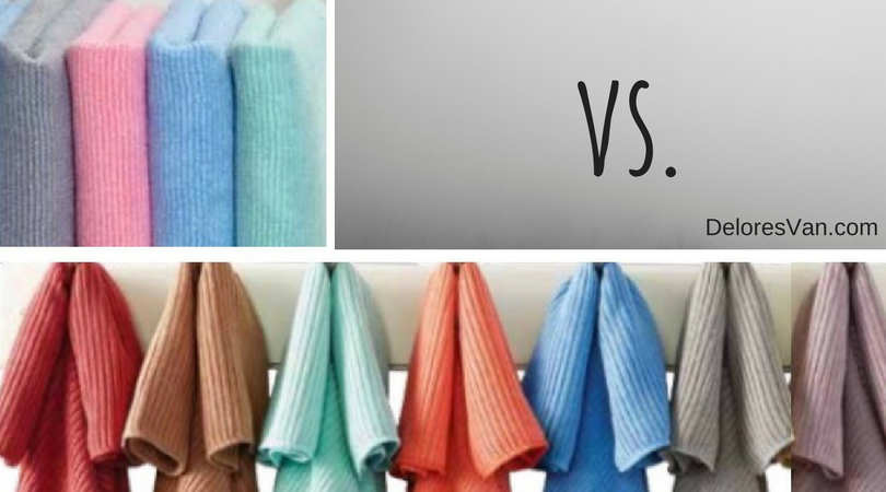 Norwex Kitchen Cloth vs. EnviroCloth