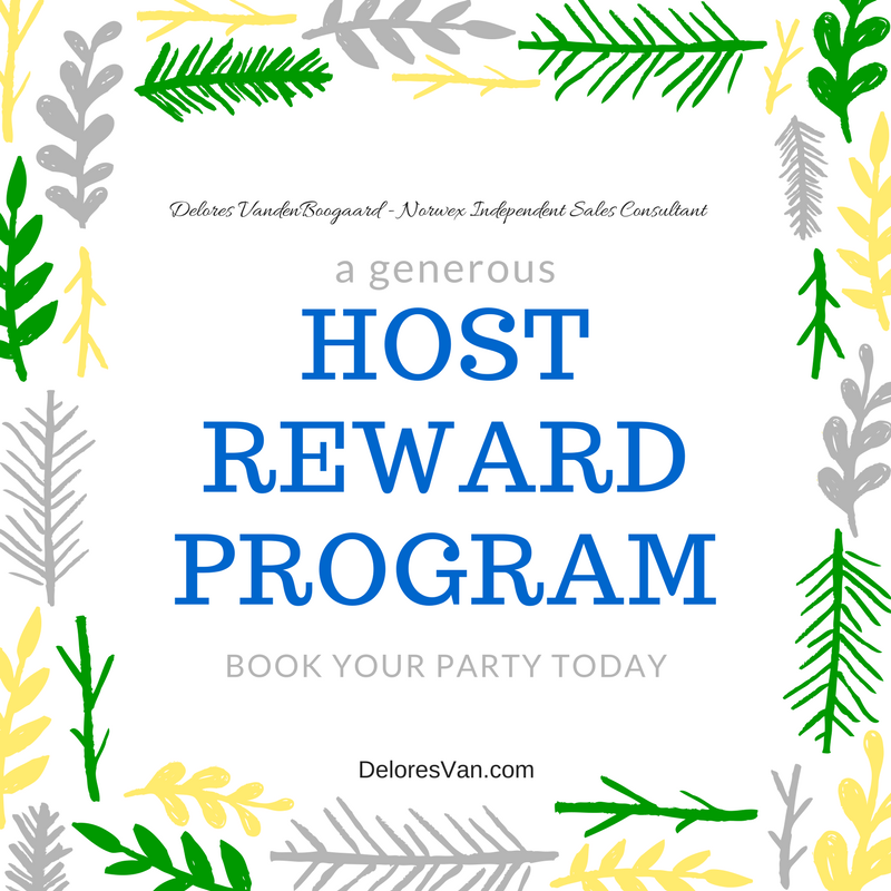 norwex host rewards for june 2016 for norwex hosting party clean natural living with delores vandenboogaard ind norwex edmonton sales consultant - Norwex Party Invitation