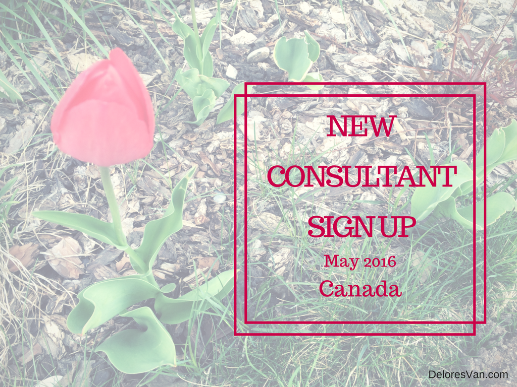 May New Consultant Sign Up – Canada