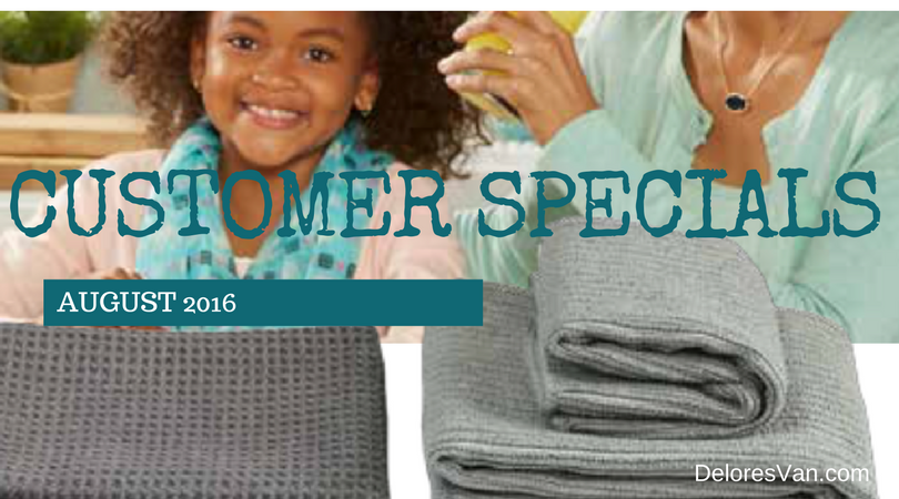 August 2016 Customer Specials