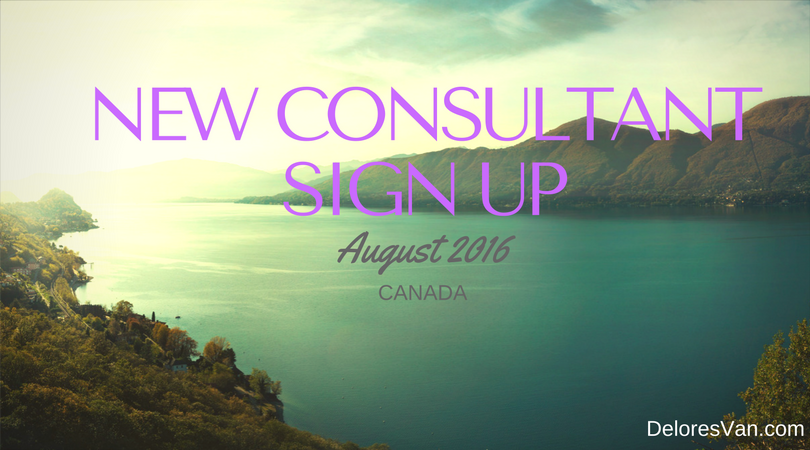 August Consultant Sign Up Canada Incentive