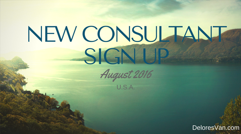 August Consultant Sign Up U.S.A. Incentive