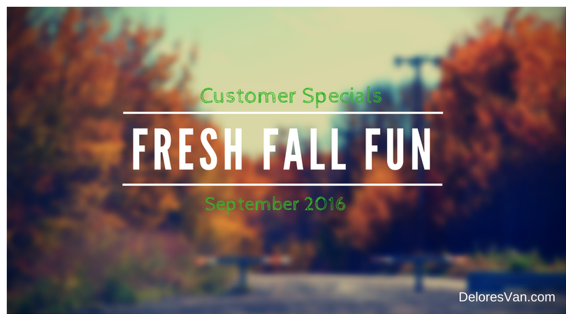 September 2016 Customer Specials