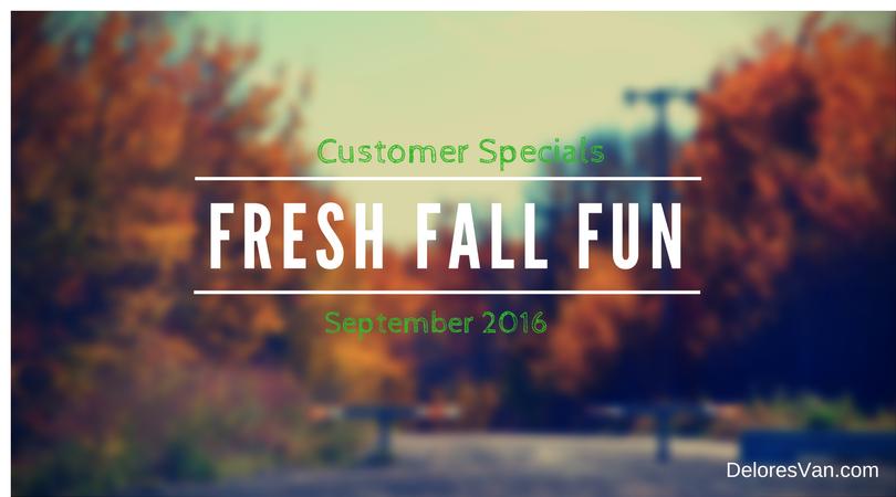 September 2016 Customer Specials