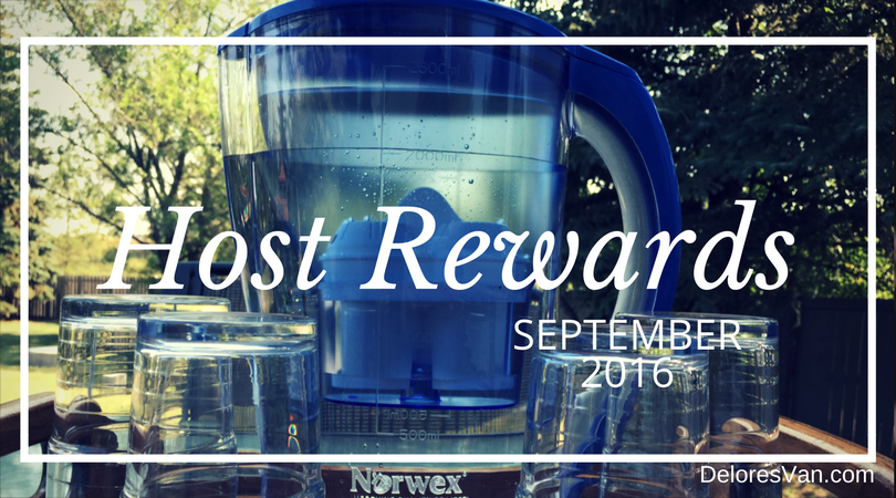 September 2016 Norwex Host Rewards