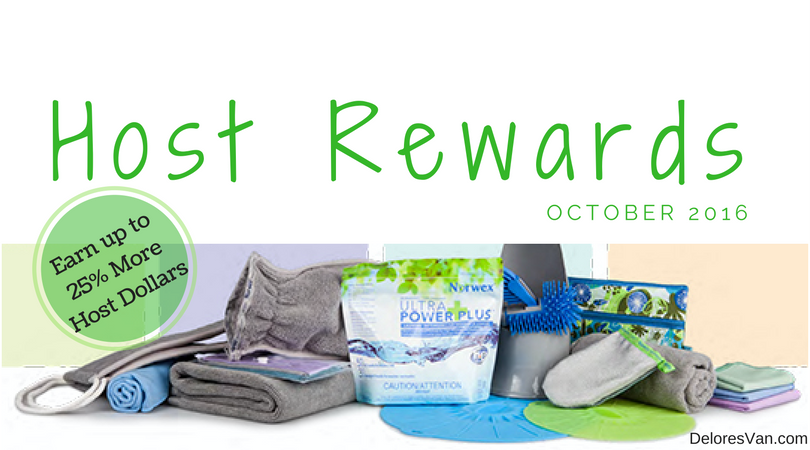 October 2016 Norwex Host Rewards
