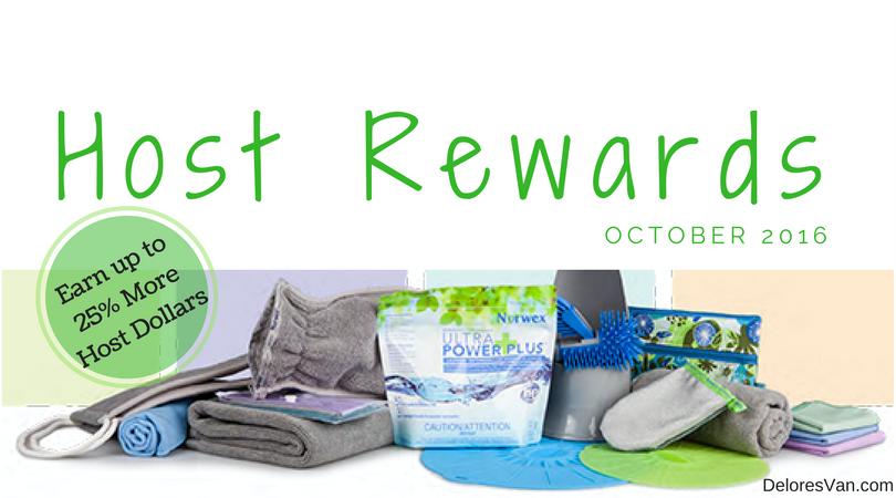 October 2016 Norwex Host Rewards