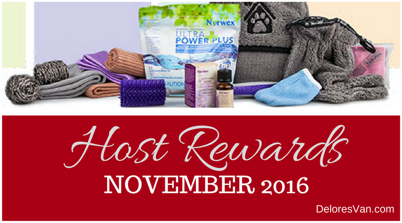 November 2016 Norwex Host Rewards