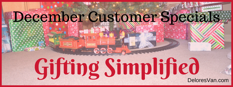 December Customer Specials – Gifting Simplified