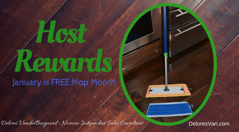 January Host Rewards – FREE MOP MONTH!!!