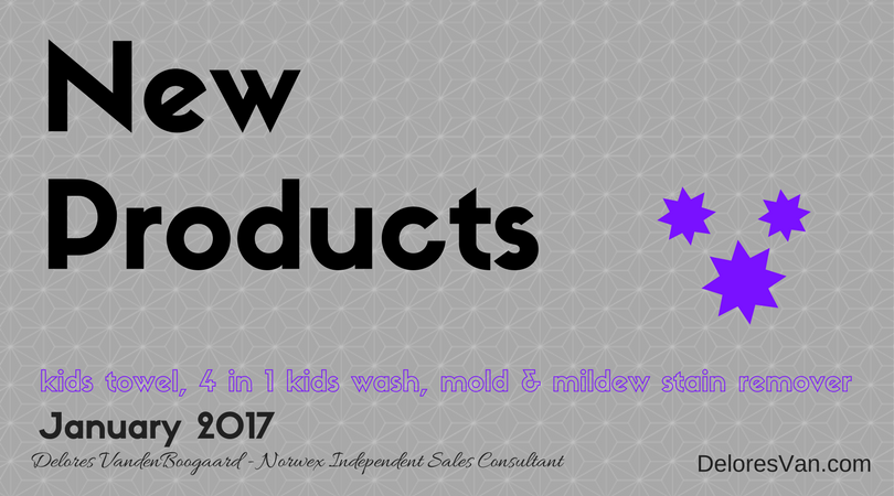 What are Norwex's NEW Products for 2017?