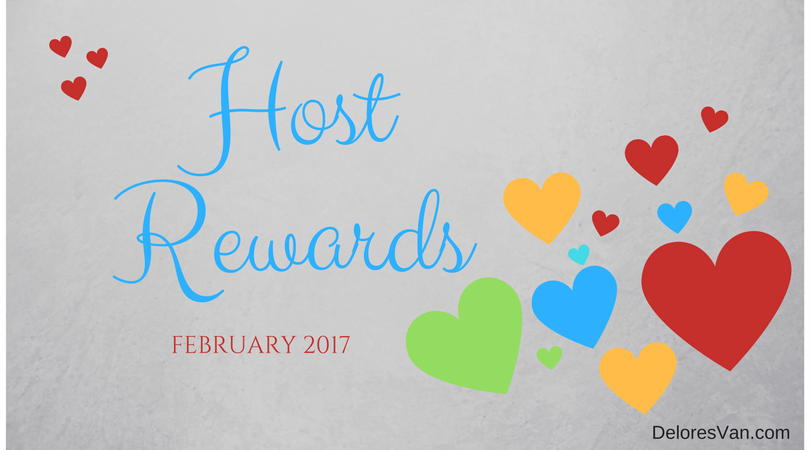 What are the Host Rewards for February 2017?