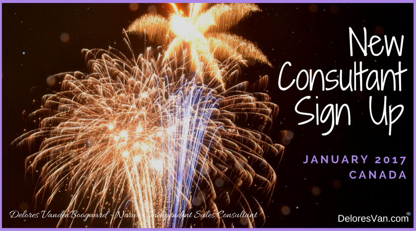 January New Consultant Sign Up Incentives in Canada