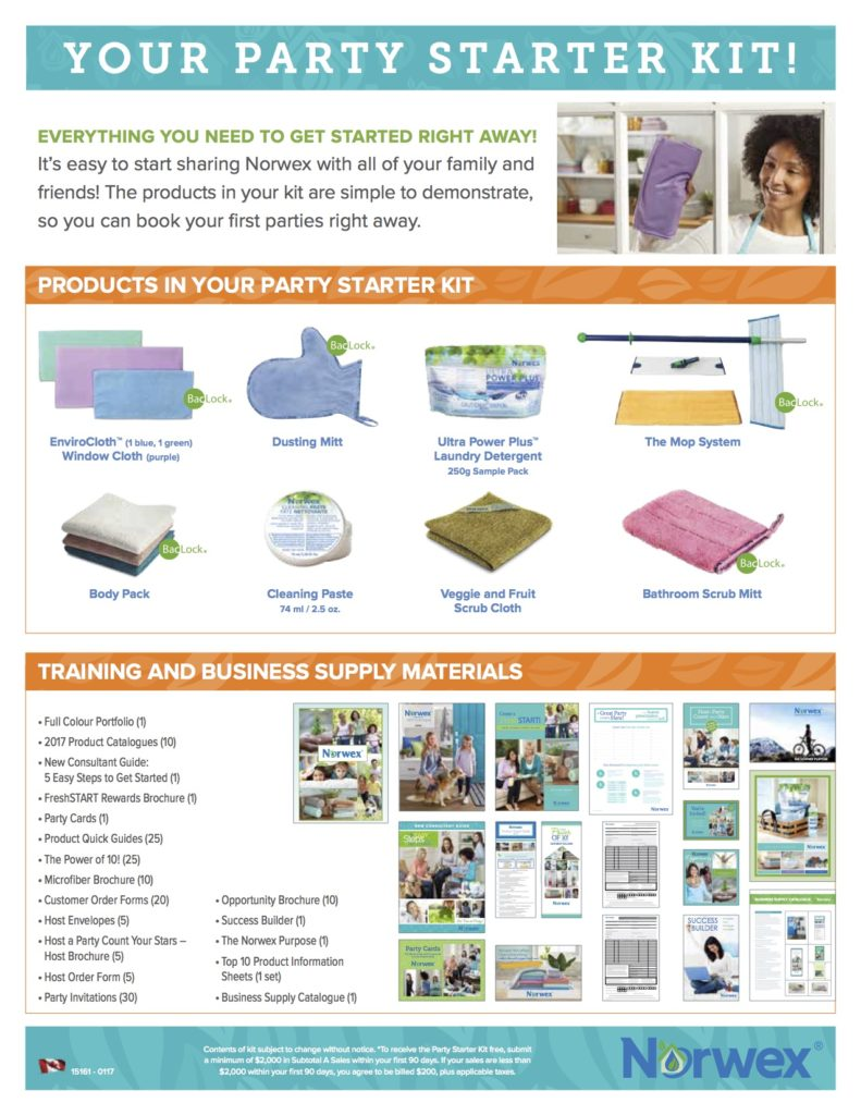 Norwex Party Starter Kit
