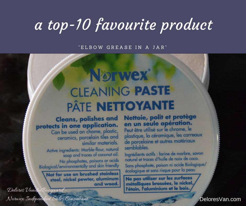 Cleaning Paste Top-10 Norwex:   Want an environmentally-friendly, versatile, long-lasting cleaner?