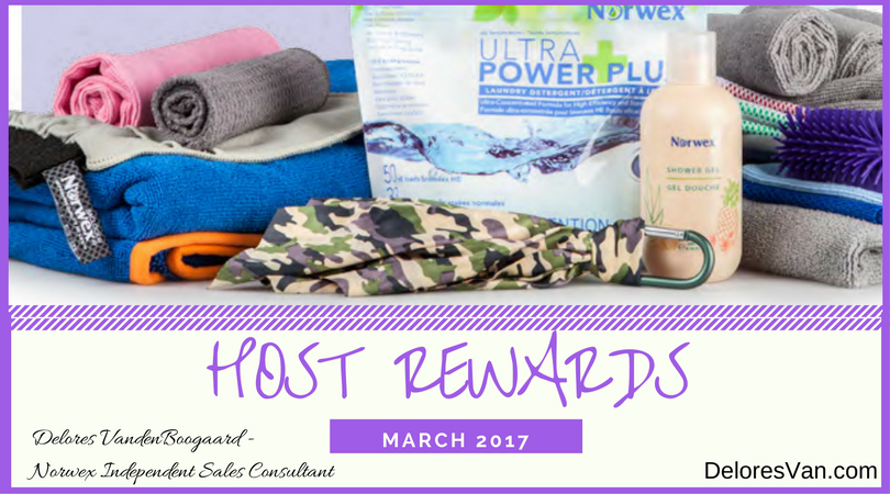 Great Norwex Host Rewards in March!