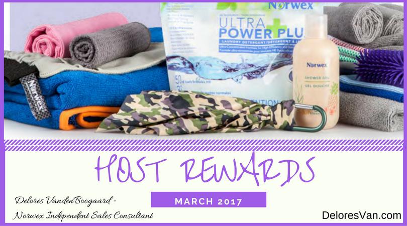 Great Norwex Host Rewards in March!
