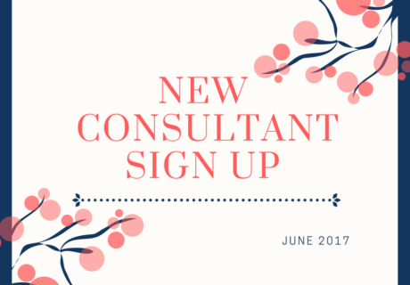 New Consultant Sign Up