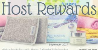 Norwex Host Rewards Sept 2017