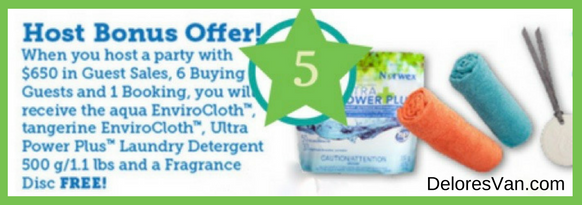 Norwex Host Reward Bonus