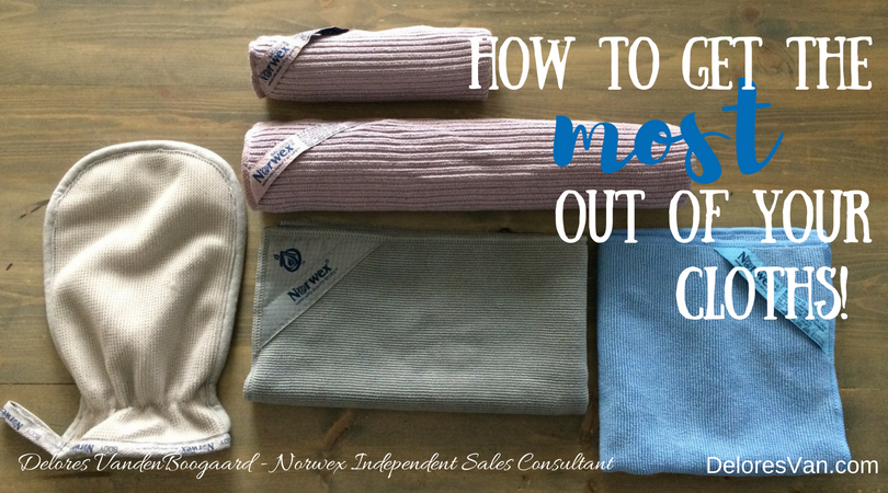 How to Care for your Norwex Cloths!