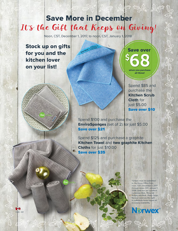 Norwex Customer Specials December