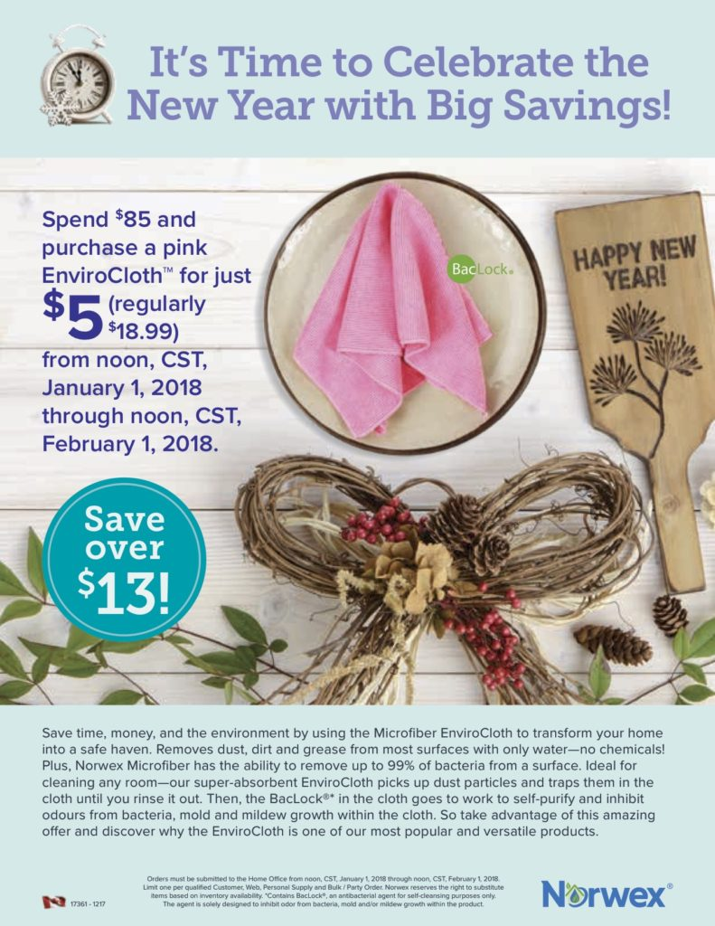 Norwex Spend & Get Sale