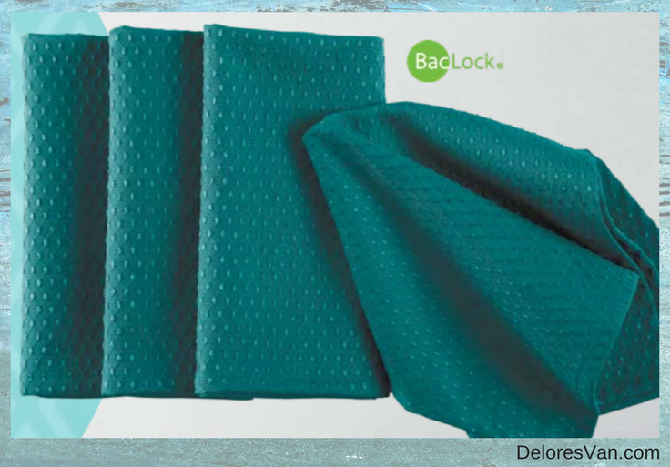Norwex Napkins Peacock