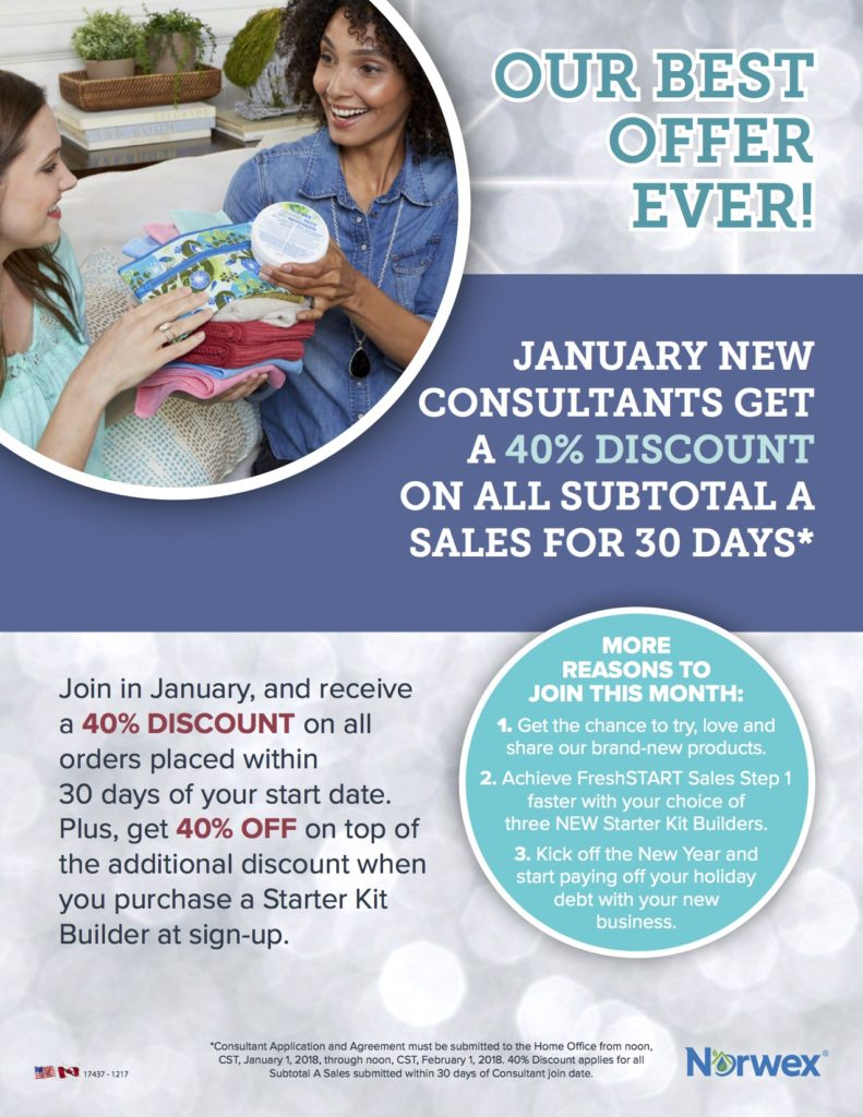 Norwex New Consultant Offer