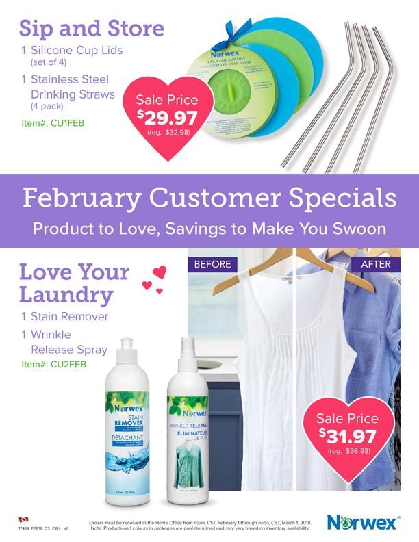 Norwex Sale February 2018