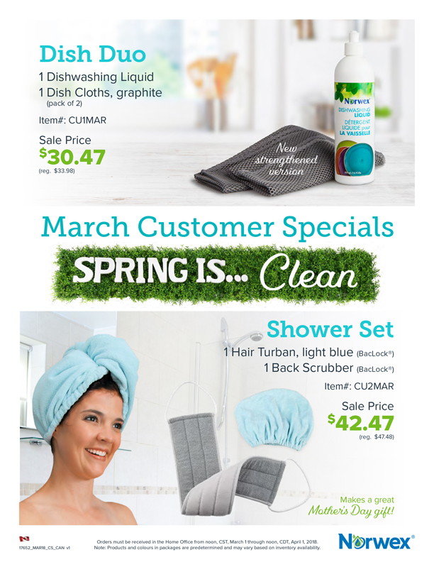 Norwex Spring Cleaning