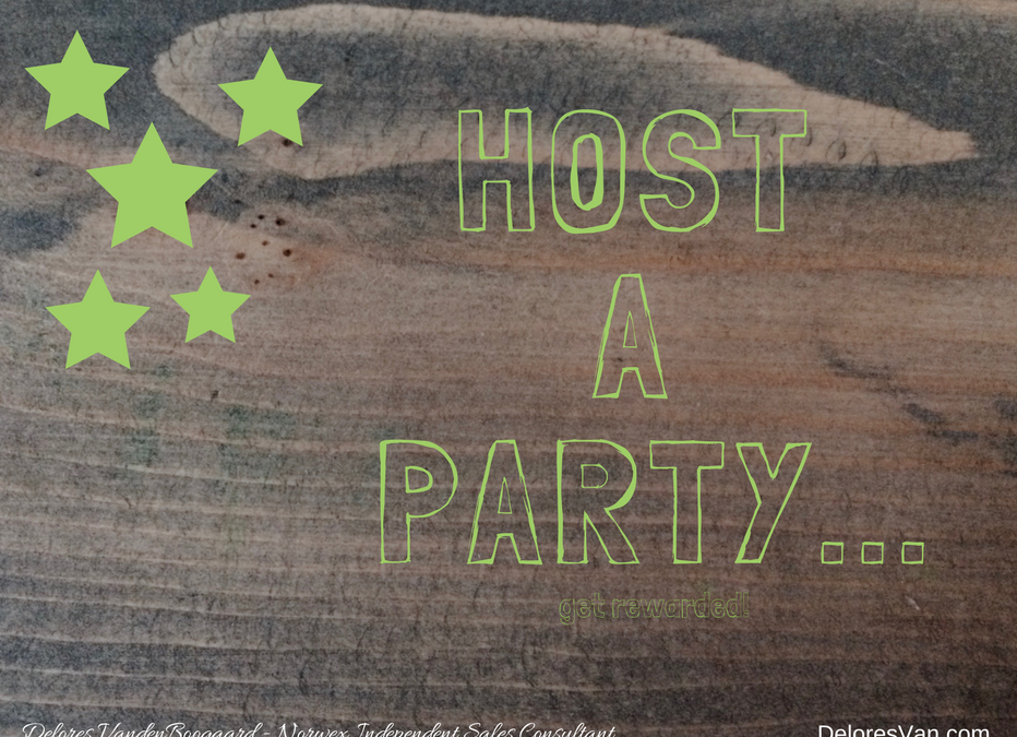 Host a Norwex Party… Receive 5-STAR Host Rewards