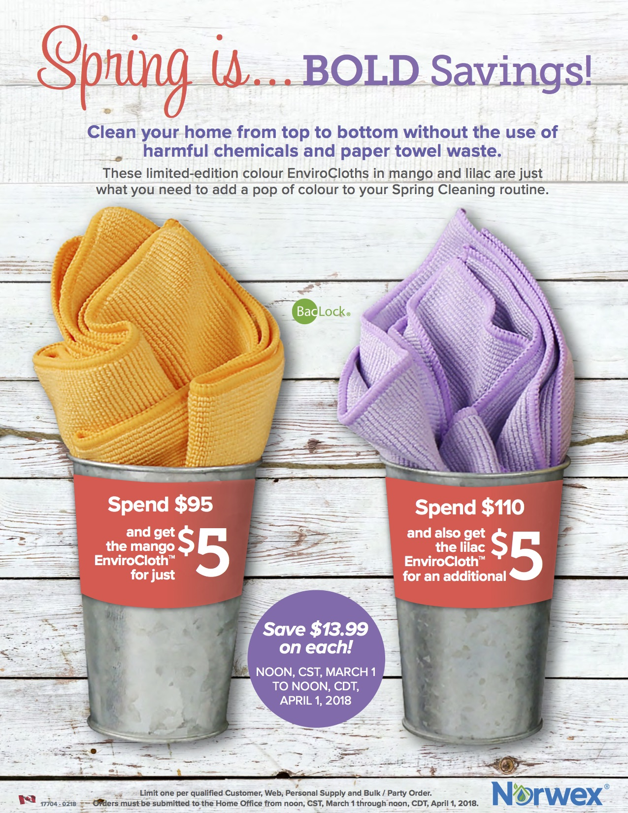 Spring Cleaning Spend & Get
