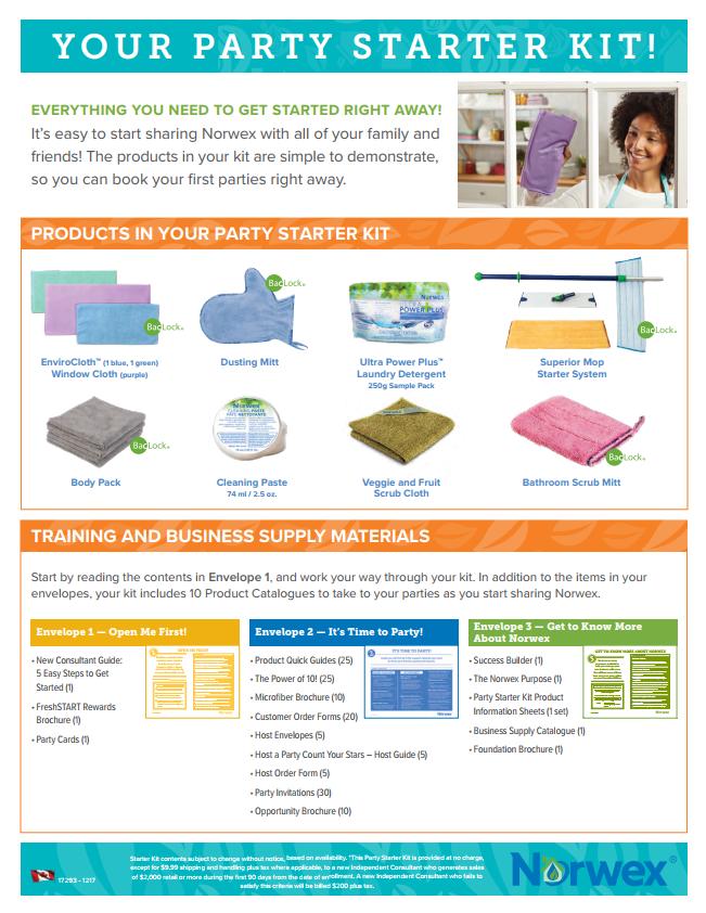 Norwex Party Starter Kit