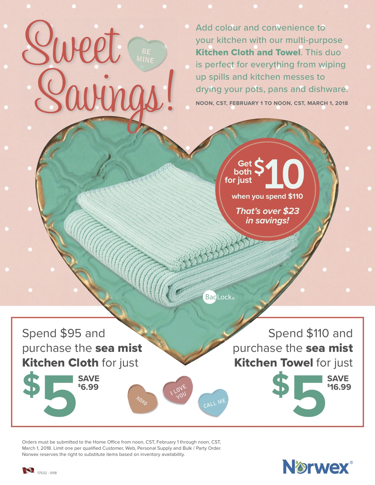 Norwex Spend & Get Feb 2018