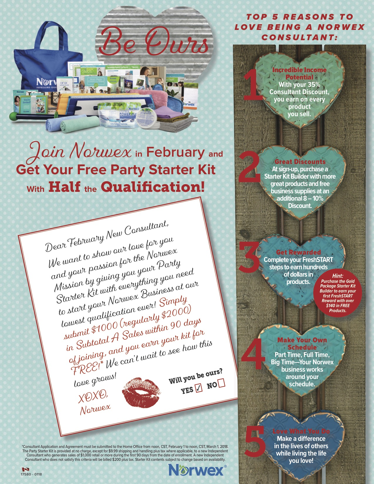 February Norwex Sign Up