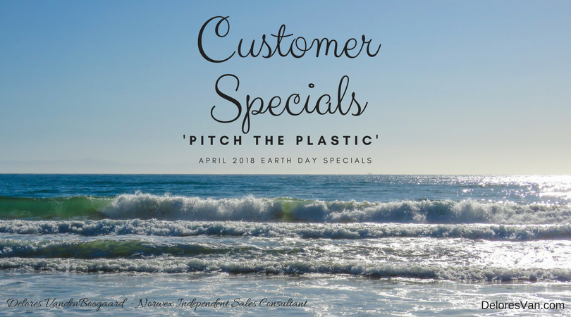 Norwex's Pitch the Plastic Special for Earth Month