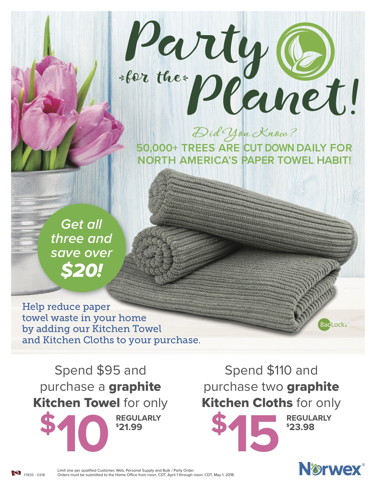 Norwex Pitch the Plastic Spend and Get
