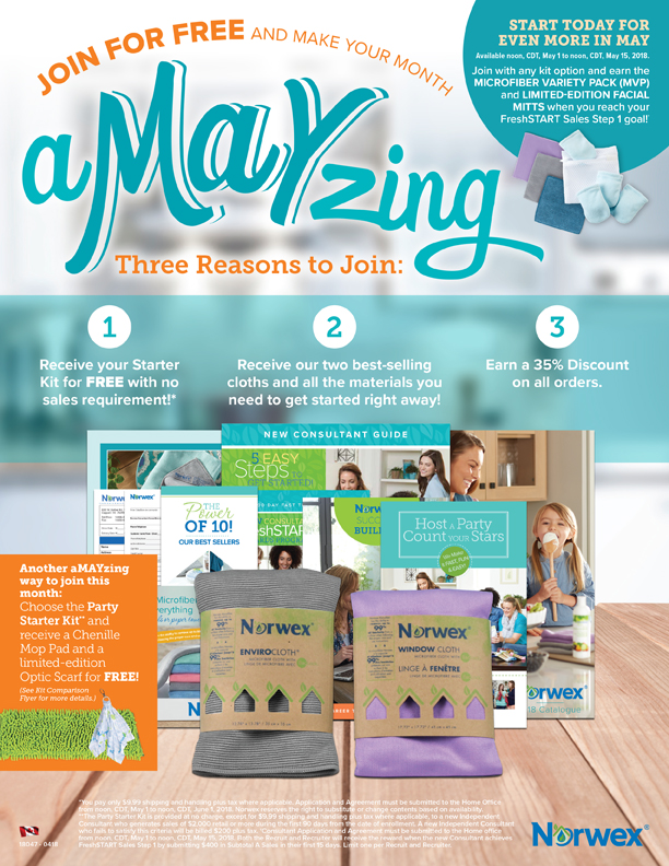 FREE NORWEX SIGN UP