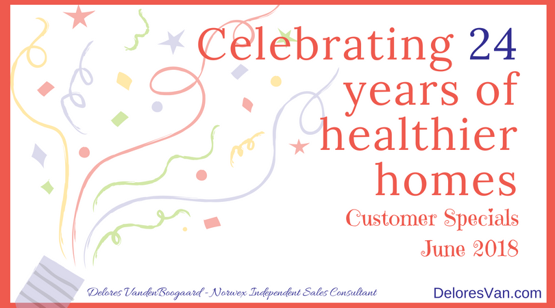 Norwex's 24th Birthday Customer Specials