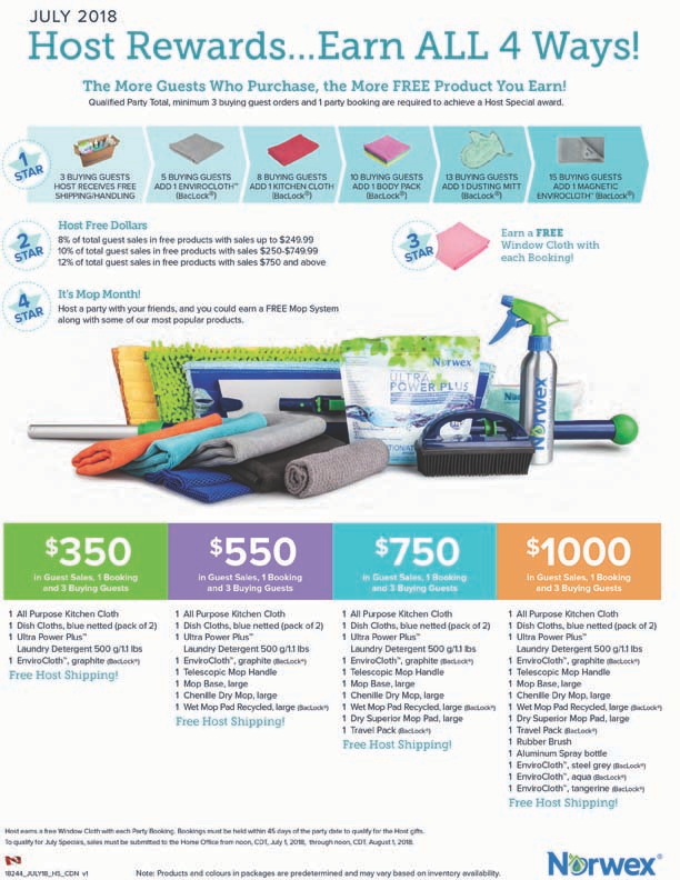Host A Norwex Party Earn A Free Mop Sytem Clean Natural Living
