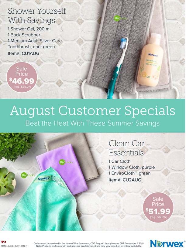 Norwex Summer Savings