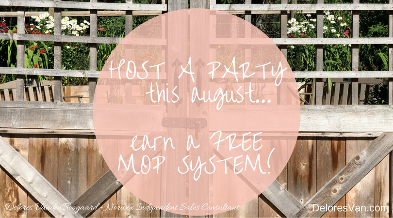 Host a Norwex Party… Earn a Mop System!!