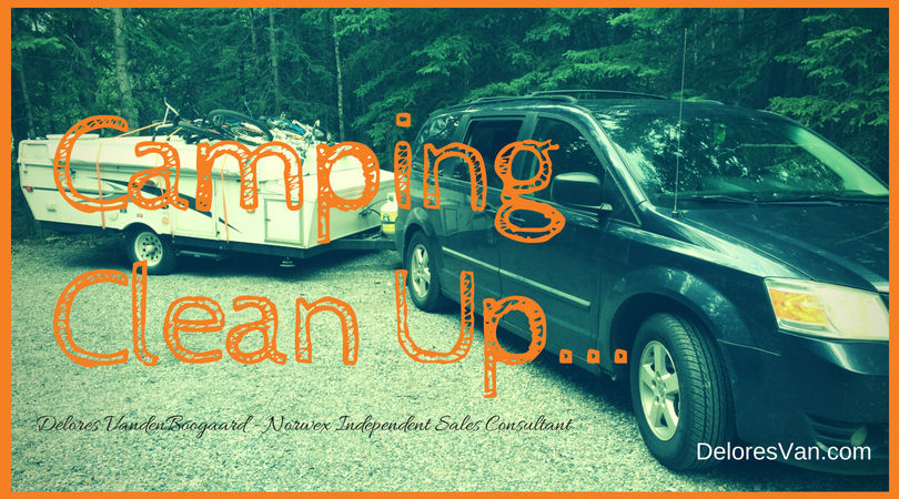Camping Clean Up… with Norwex